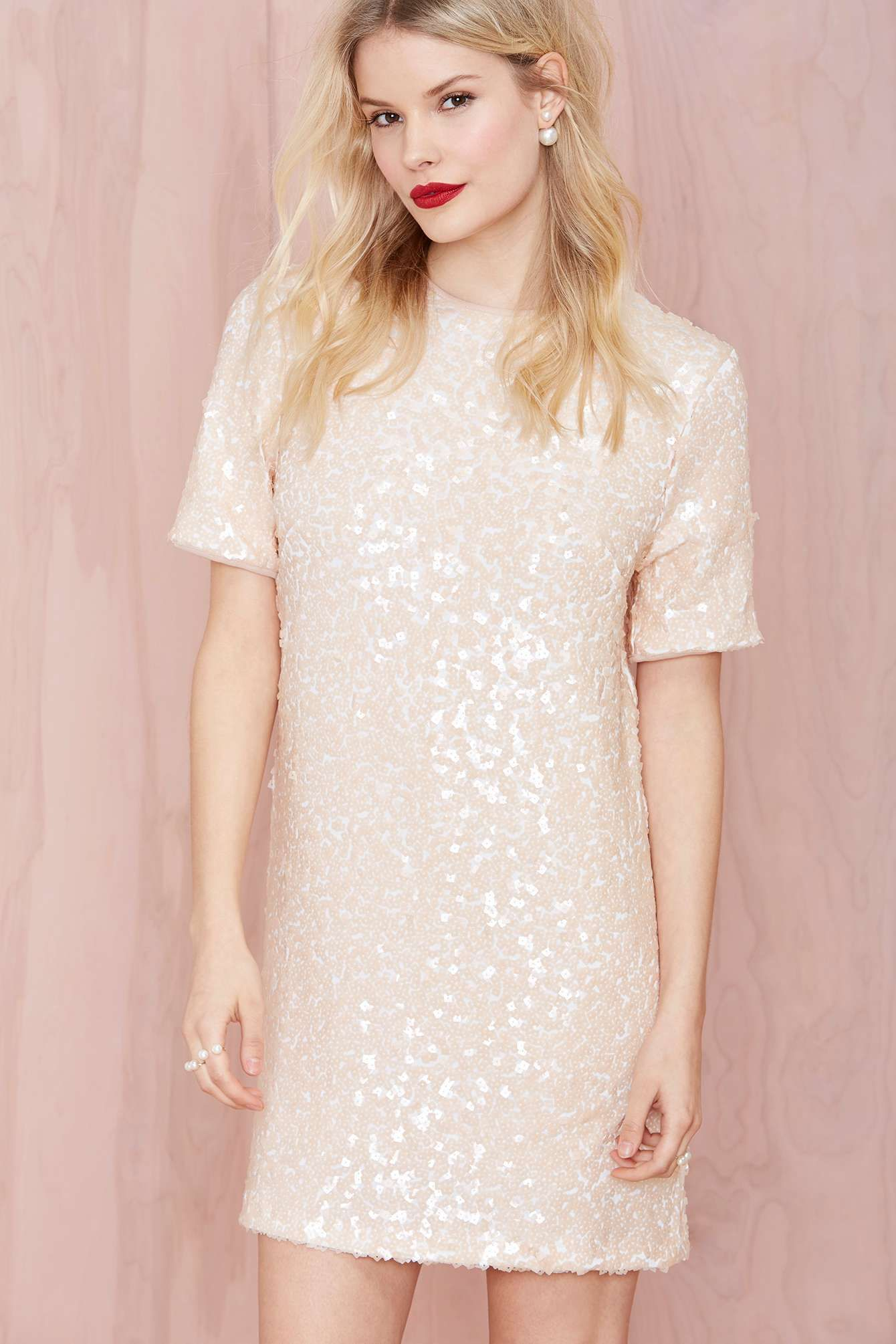 496c061030b Motel Icy Sally Sequin Dress