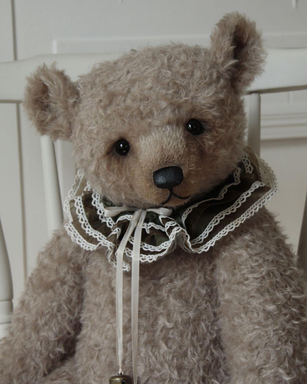 "Marcel - a 22"" Humble Crumble bear (www.victoriaallum.co.uk)"
