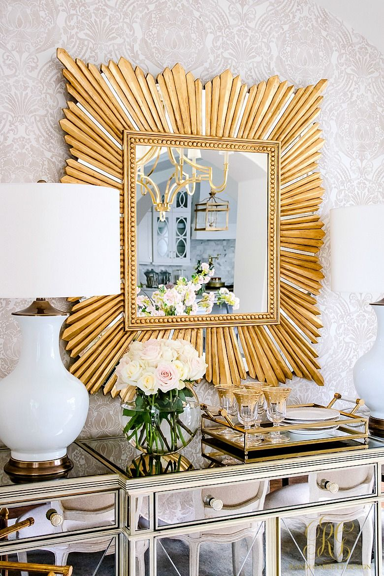 glam transitional dining room reveal home room dining rh pinterest com