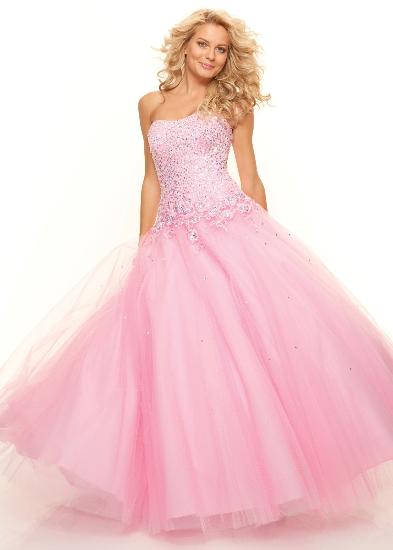 c62fbc3b6a pink ball gown