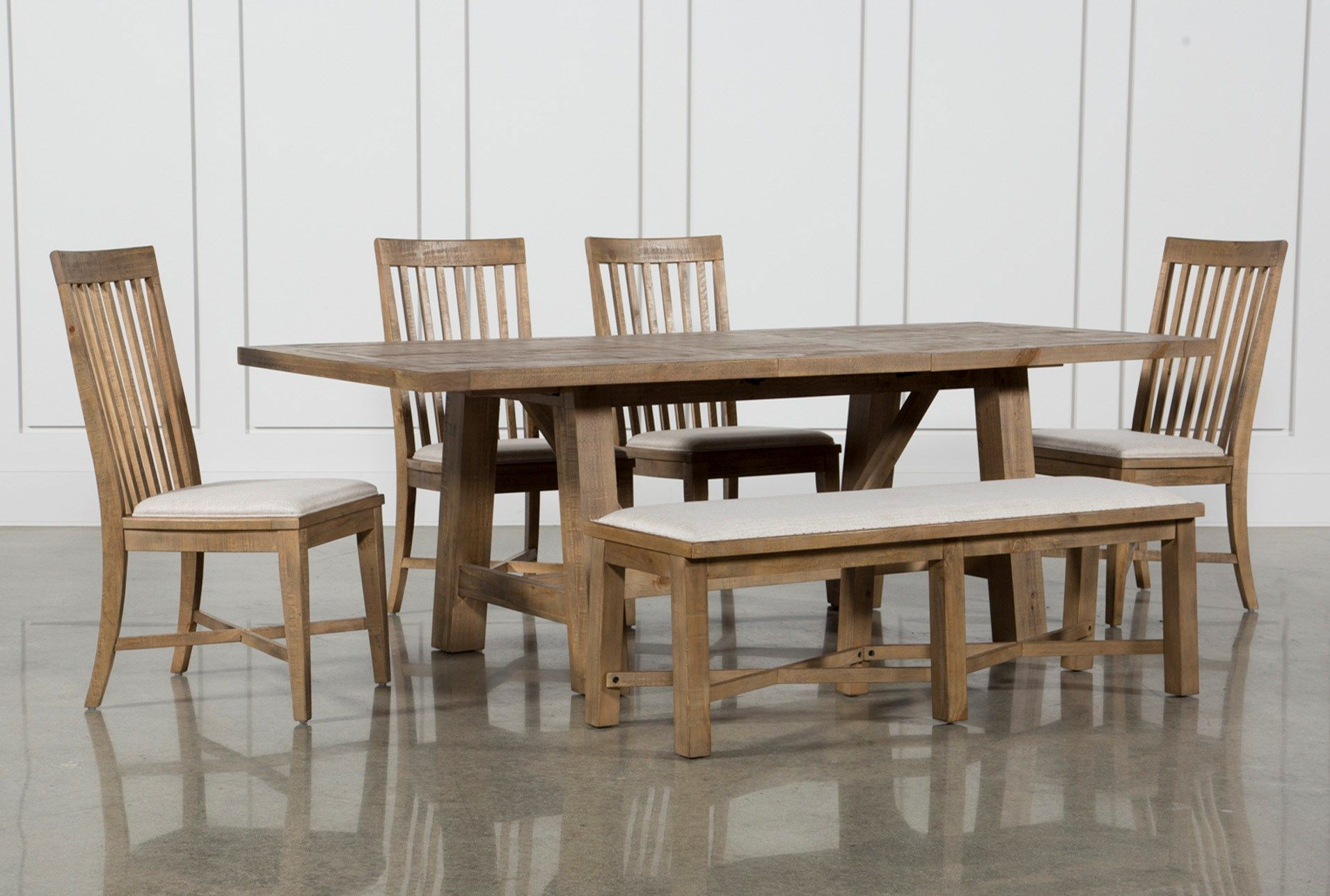 market 6 piece dining set with side chairs in 2019 dining room rh pinterest com