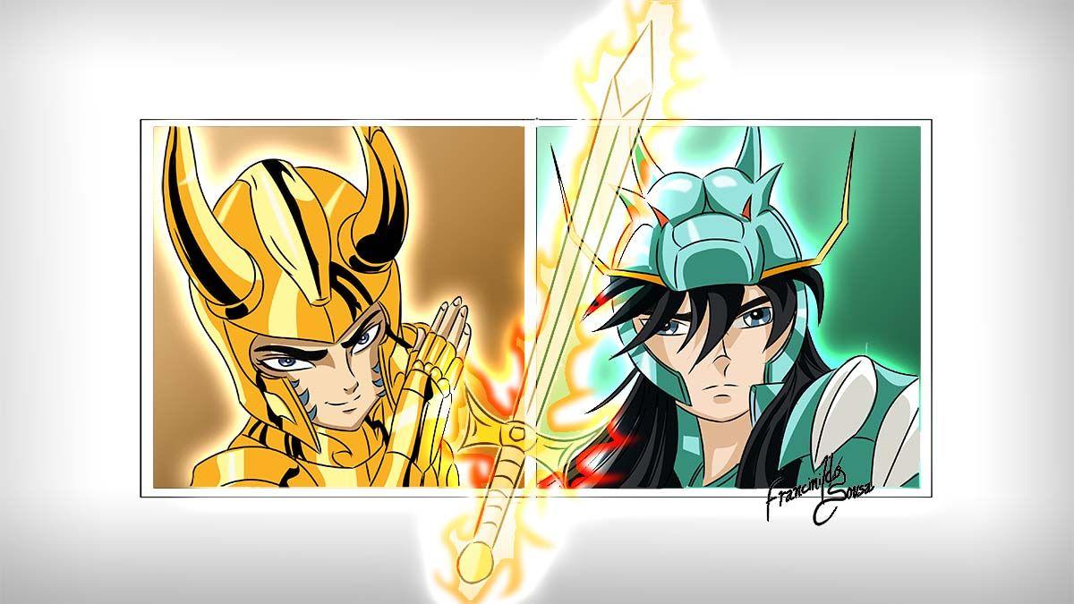 10° Casa - Capricórnio #Animes #Desafio #CDZ #Drawing
