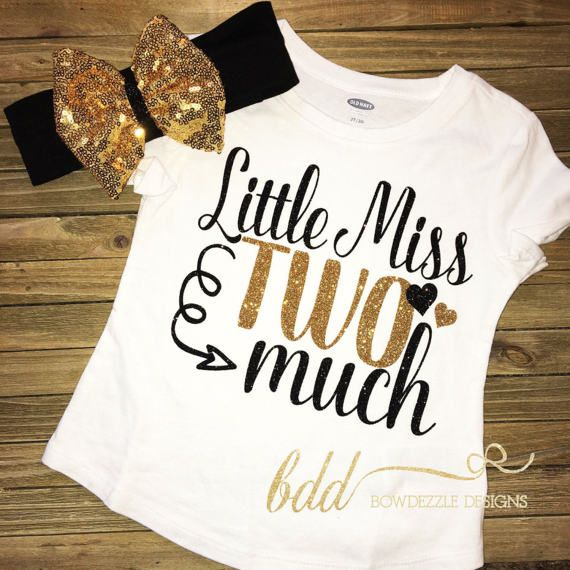 Two Fancy Second Birthday Outfit Girl 2nd Birthday Tank Top