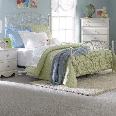 standard furniture spring rose metal bed wayfair for g rh pinterest com