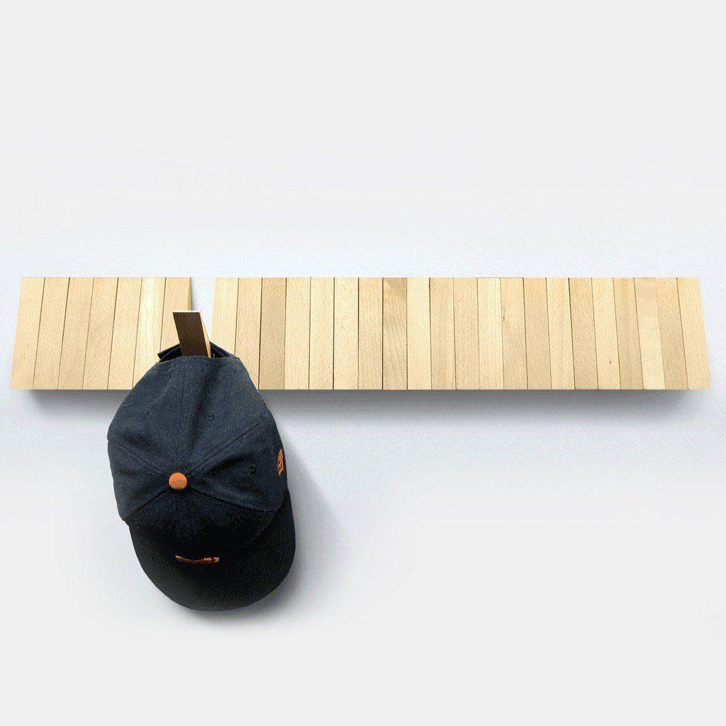 The Switchboard Wood Hooks Wall Mounted Coat Rack Cool Stuff