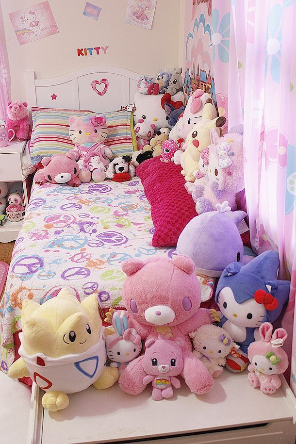 Kawaii bedroom httpwwwbeautifuldiynetkawaii bedroom Kawaii bedroom