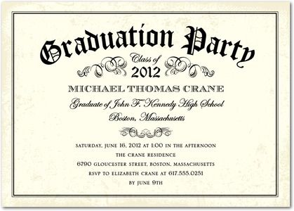 Diy Graduation Party Invitations  Google Search  Graduation