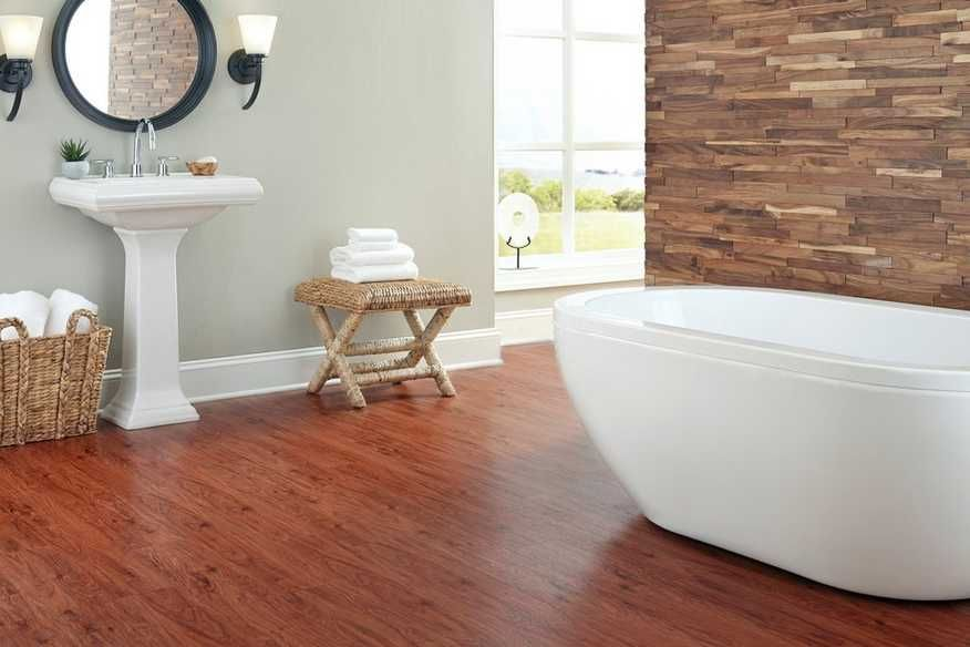 styles classic 20 hickory luxury vinyl plank bathroom floor room rh pinterest com