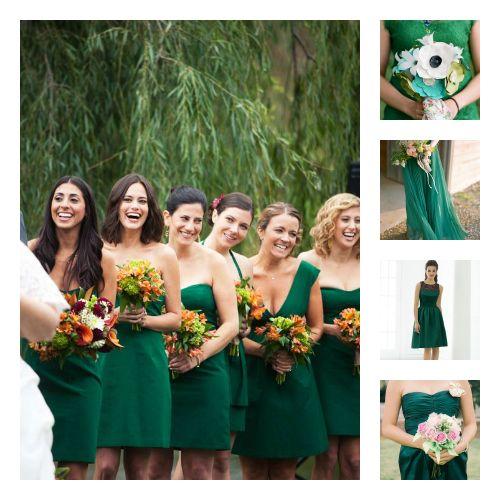 robe demoiselle d 39 honneur vert meraude mariage pinterest mariage blog and robe. Black Bedroom Furniture Sets. Home Design Ideas