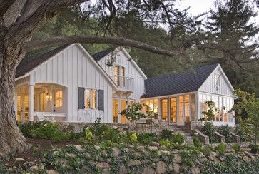 Reeves Residence, Ventura Co., CA - traditional - exterior - los angeles - Charles A. Samson, Architect