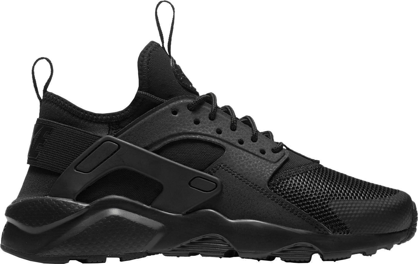 4c2fb66530 Nike Kids' Grade School Huarache Run Ultra Shoes, Boy's, Size: 3.5, Black