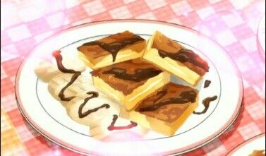 french toast with cream side And choclate