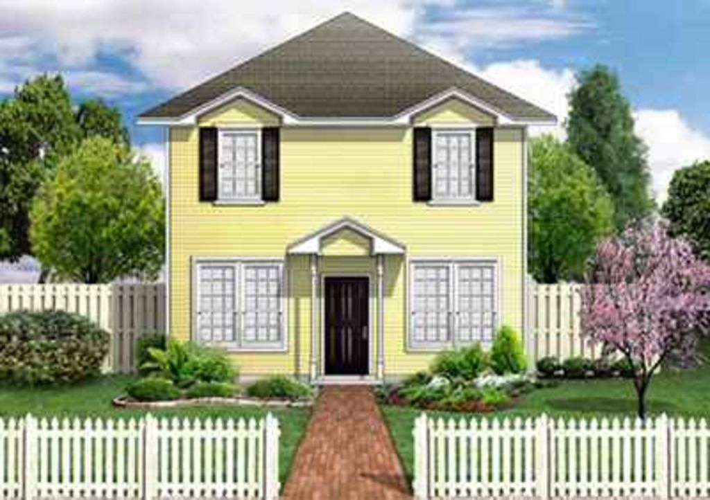 Colonial style house plan 3 beds 25 baths 1568 sqft
