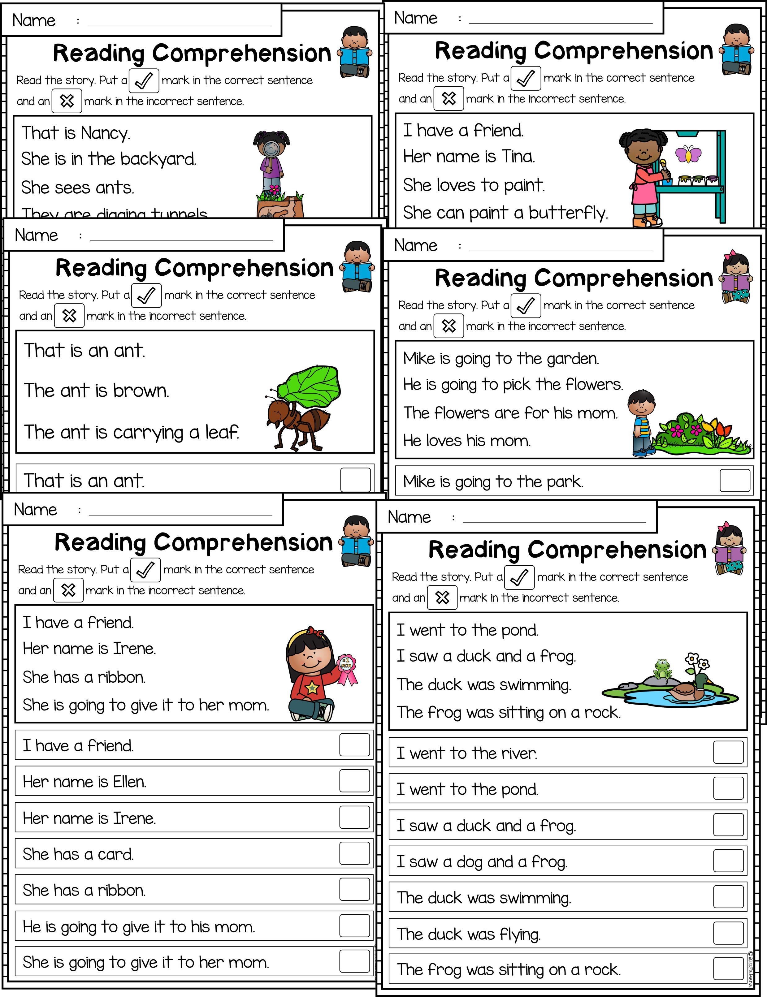 May Reading Comprehension Passages Is Suitable For Kindergarten Students Or Beginnin Reading Comprehension Reading Comprehension Passages Comprehension Passage