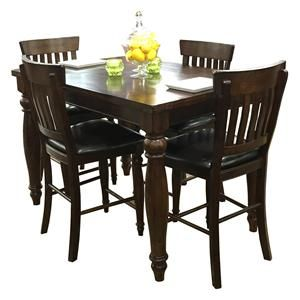 The Kingston Collection Is A Definite Show Stopper From Beautiful Raisin Finish To Detailed Turned Table And Chair Legs This Gathering Set Will B