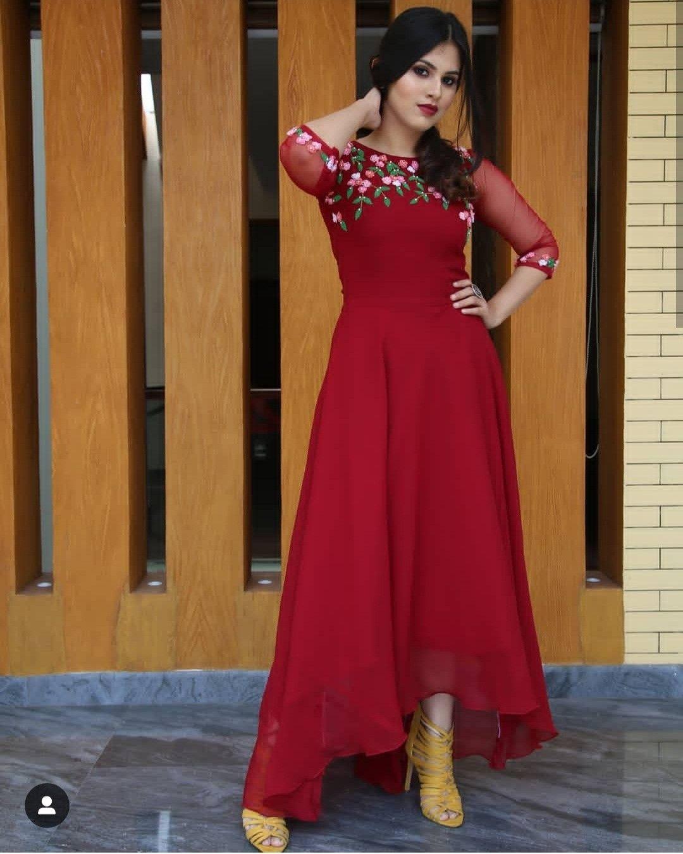 Designer kurti😍 Summer dresses sundresses, Kurti designs