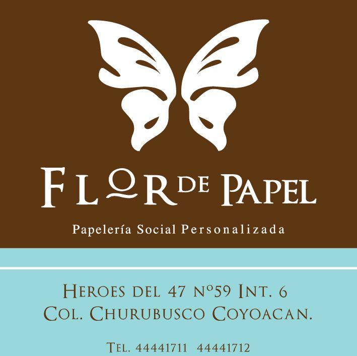 Logo de Flor de papel