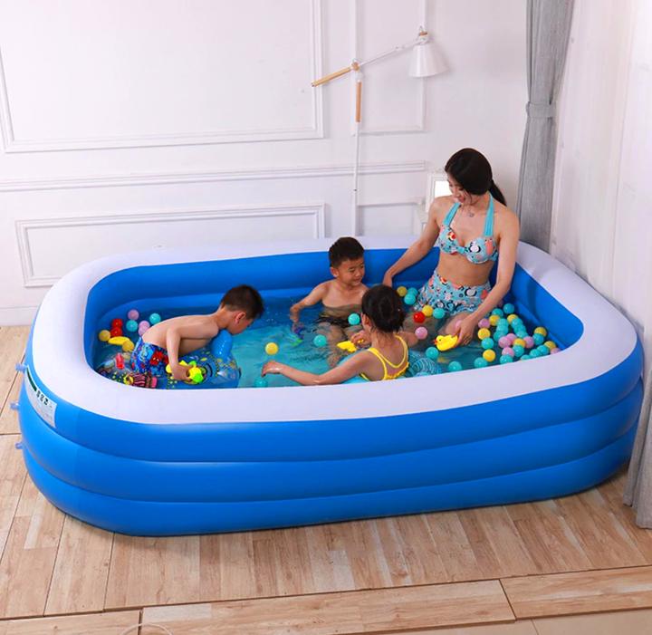 Giant Inflatable Swimming Pool Backyard Swimming Pool Ampleberry In 2020 Inflatable Swimming Pool Children Swimming Pool Inflatable Pool