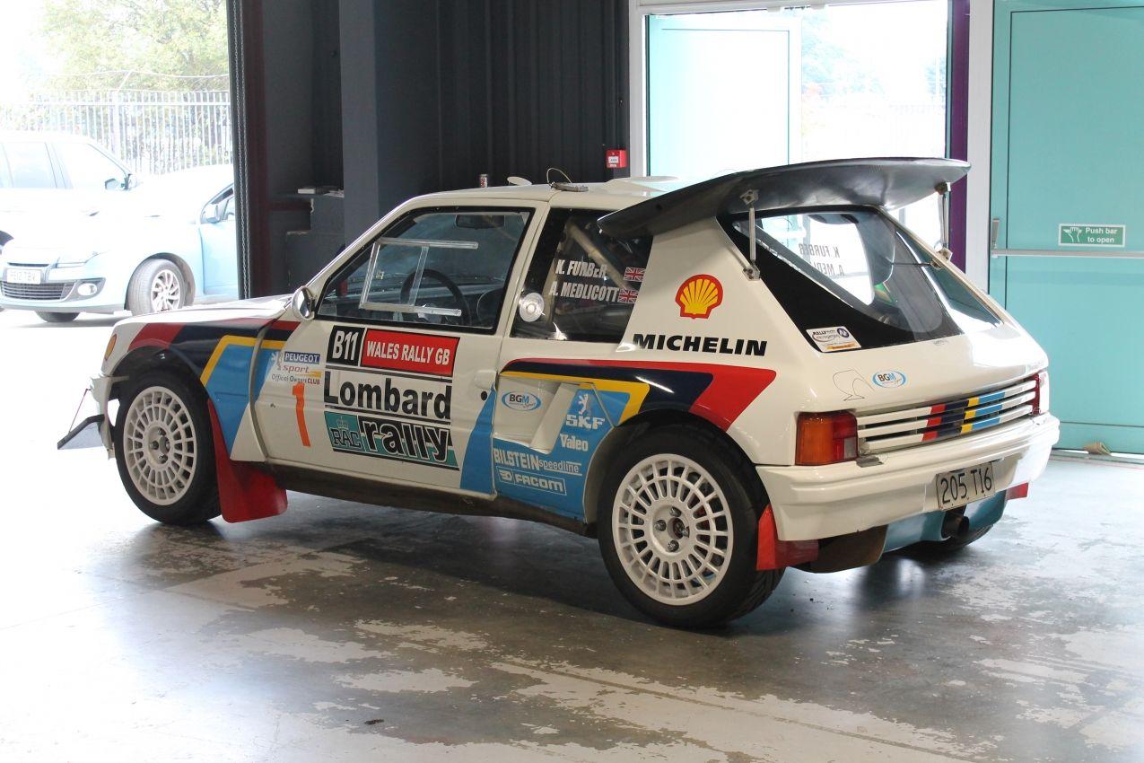 peugeot 205 t16 rally car | racing | pinterest | rally car