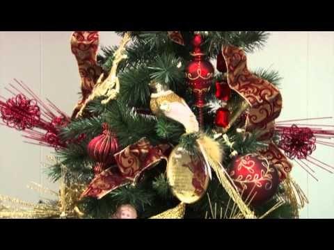 biltmore for your home themed christmas tree belk youtube rh pinterest com