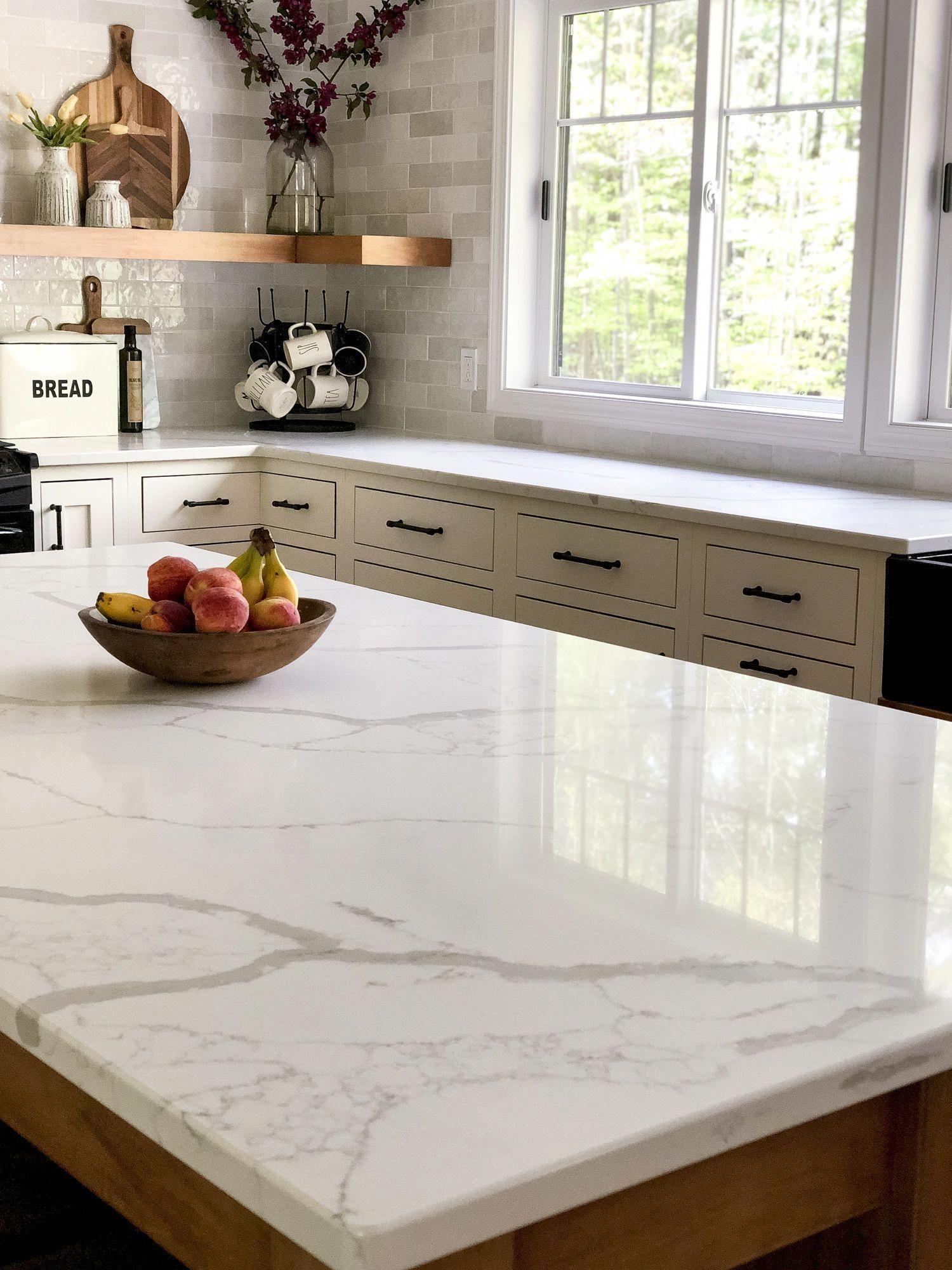 Quartz Countertop That Looks Like Carrara Marble Dreamy Quartz
