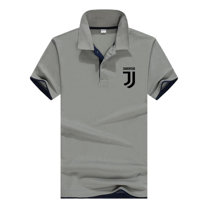 141523a641 Plus Size S-3XL Brand Juventus Men Polo Shirt High Quality Men Cotton Short Sleeve  shirt Brands jerseys Summer Mens polo Shirts. Yesterday s price  US  9.98  ...