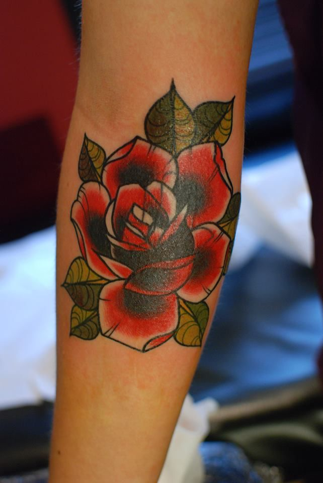 Cover Up Rose Outline