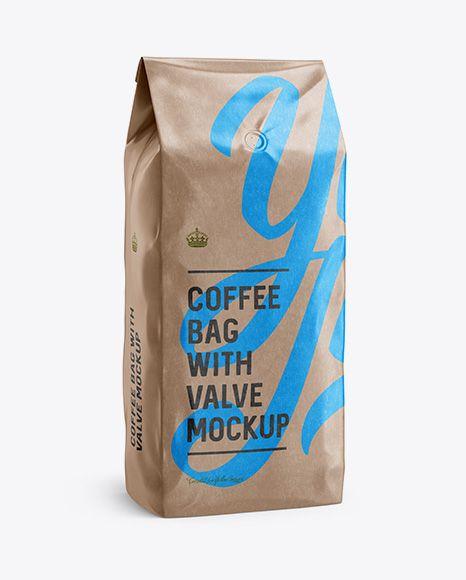 Download 2 5 Kg Glossy Kraft Coffee Bag With Valve Mockup Halfside View In Bag Sack Mockups On Yellow Images Object Mockups Mockup Free Psd Mockup Psd Business Card Mock Up