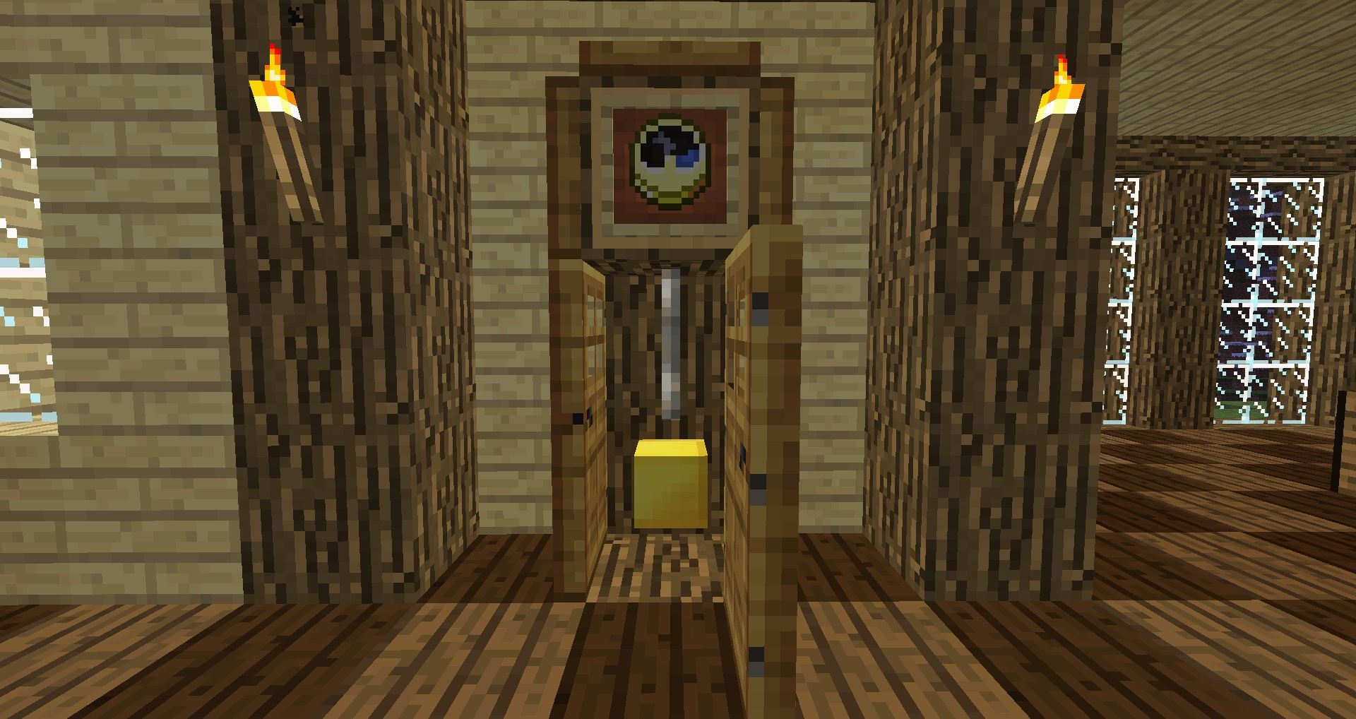minecraft furniture - decoration - minecraft grandfather clock