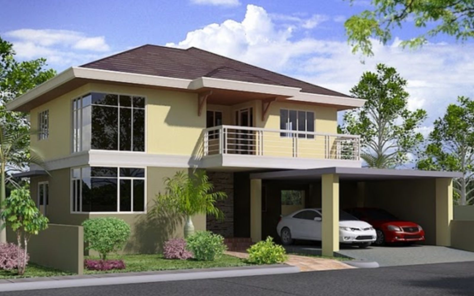 2 storey house design philippines modern house plan 3