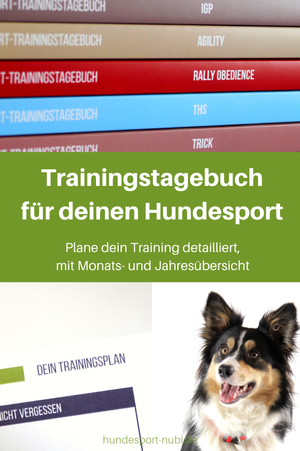 Neu Planer Fur Dein Training In 2020 Hundesport Hundchen