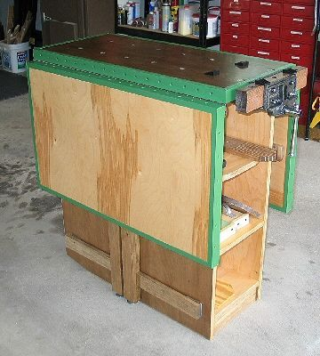 how to build a drop leaf work bench google search rh pinterest com