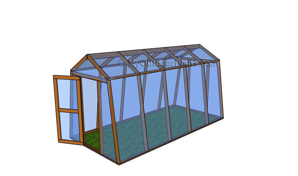 How to build a greenhouse garden pinterest for Building a wood frame greenhouse