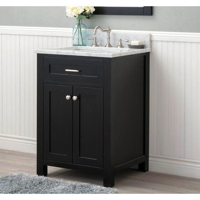 cecilton 24 single bathroom vanity set powder room single rh pinterest com