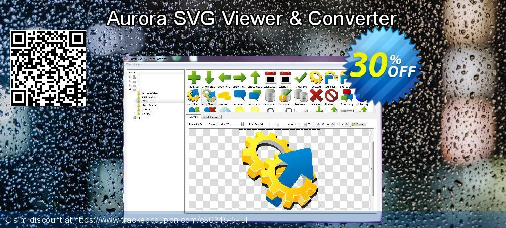 Aurora SVG Viewer & Converter Coupon 30% discount code, Aug