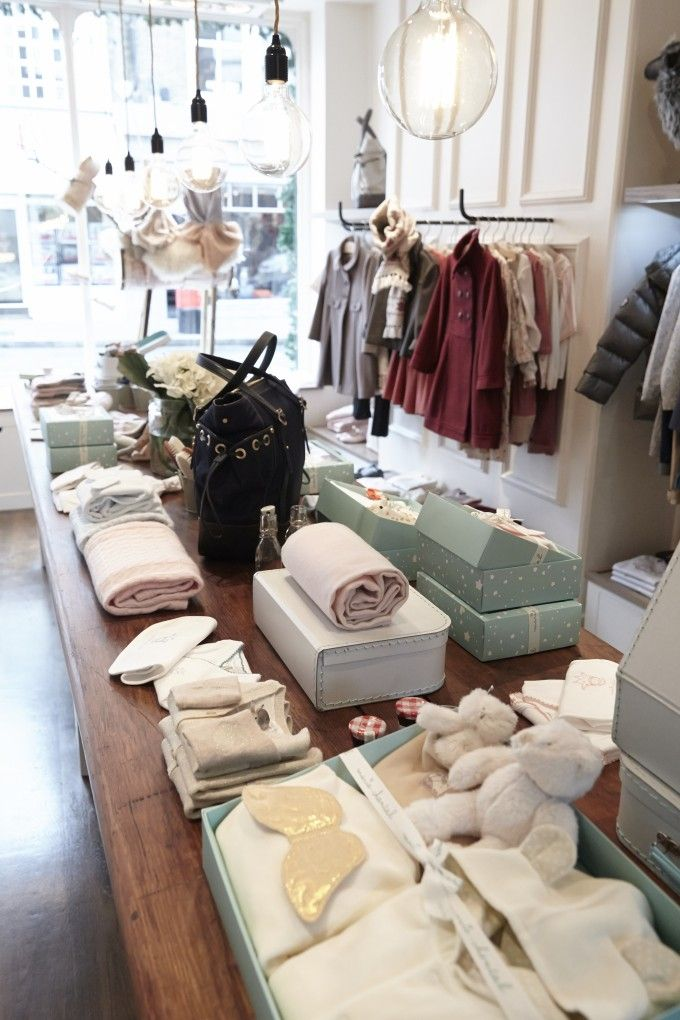 Christmas In Walton Street Clothing Store Interior Clothing