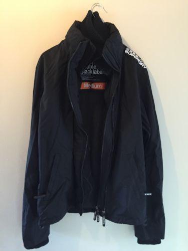 Men's Black Super dry Jacket/coat Size Medium Windcheater HARDLY BEEN WORN https://t.co/5eMpKebzcs https://t.co/a8Xq9hcgA6