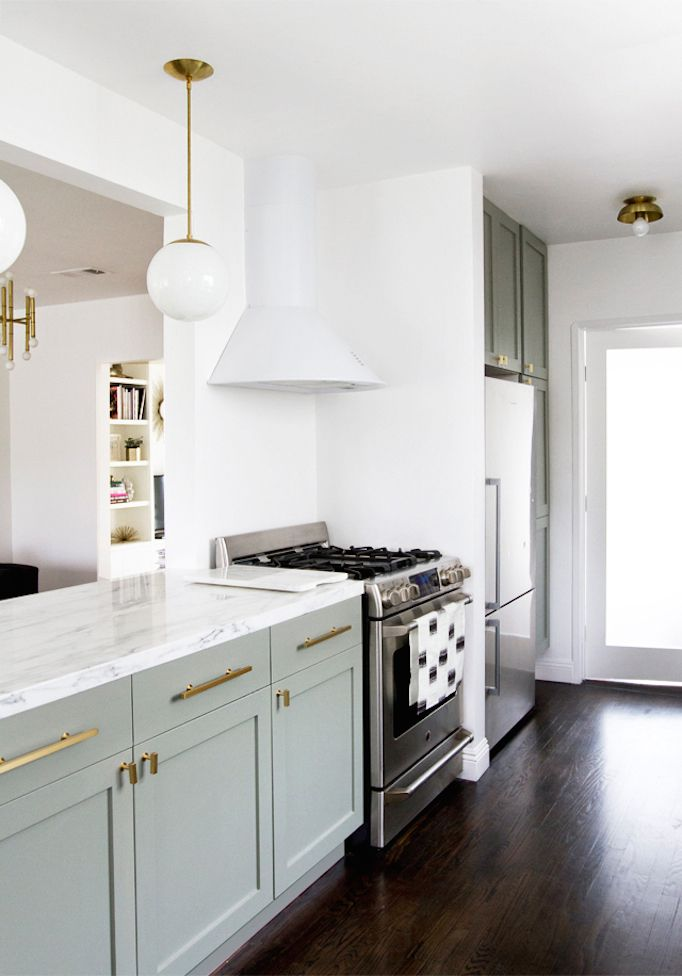 before and after mid century kitchen makeover becki owens retro rh pinterest com