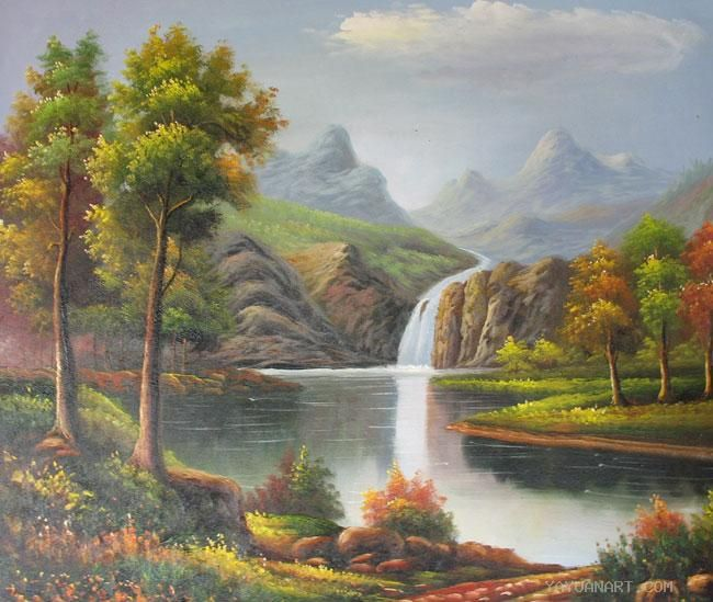 Art by famous artists landscape artists world famous oil for Best painting images