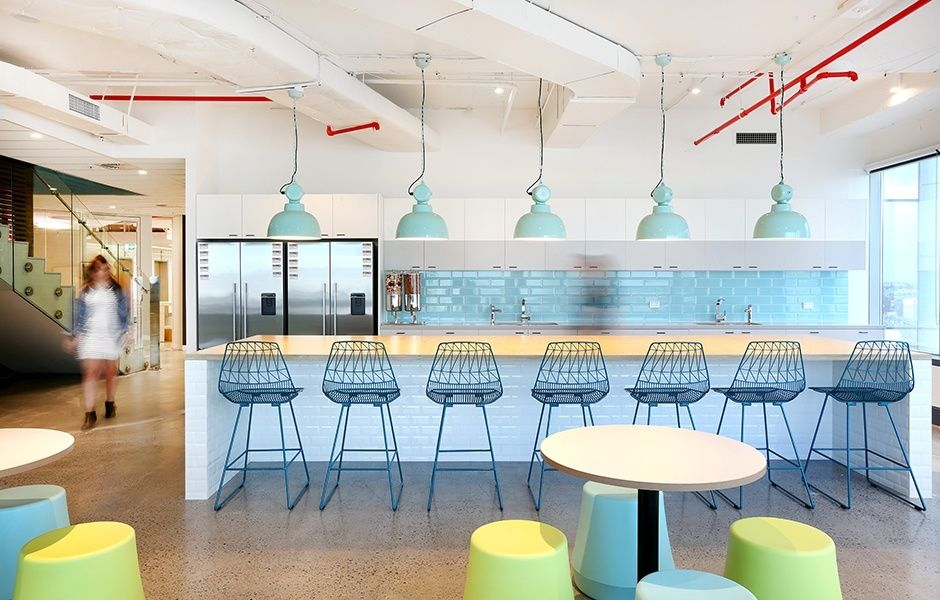A look inside iinet s modern sydney office design och for Top architecture firms sydney