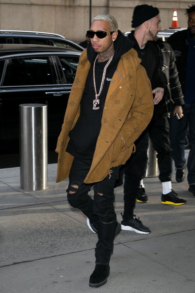 c8a5be7684508 Tyga - Attending the Yeezy Season 3 show on in 2019