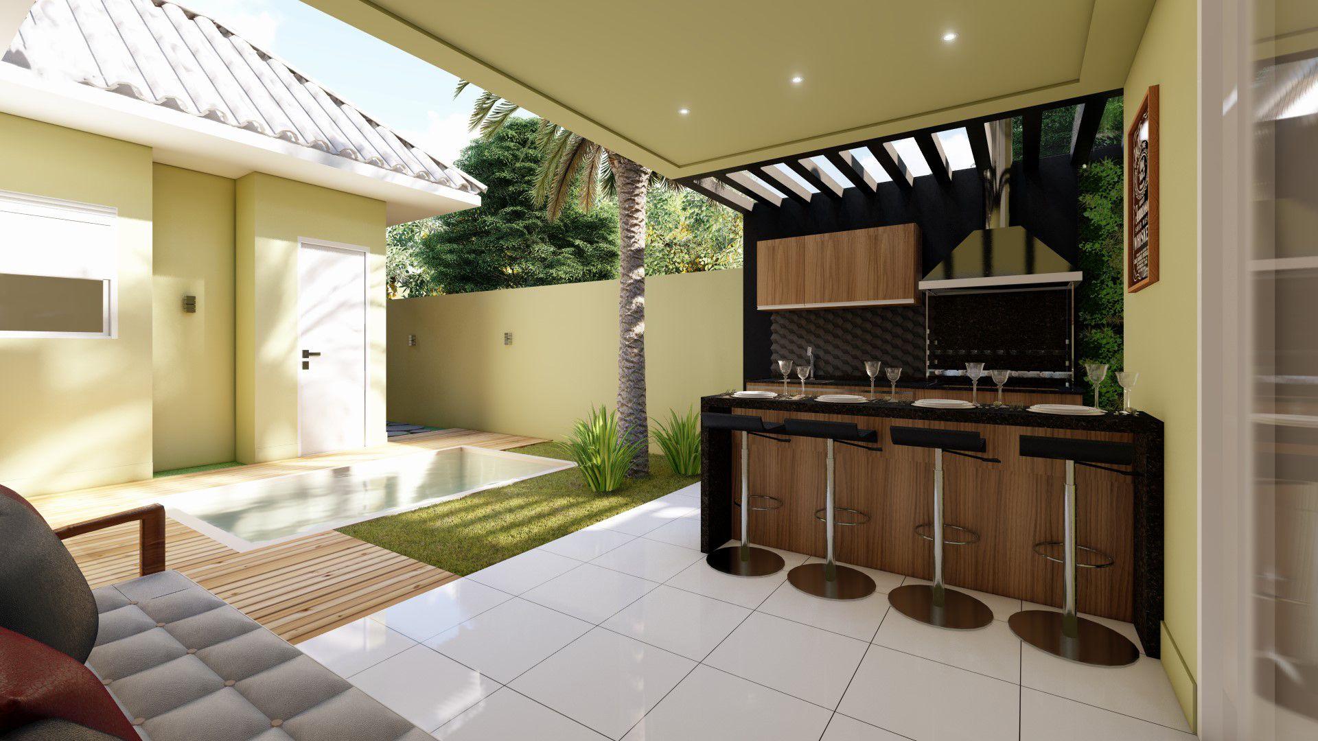 Projeto Casa Térrea com Mezanino CM 65 imagens
