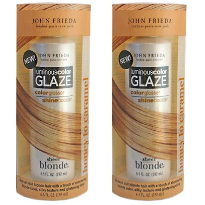 Pack Sheer Blonde Luminous Color Glaze Honey to Carmel oz By
