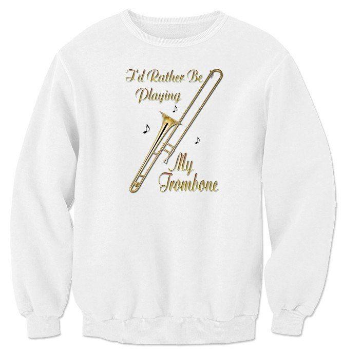 Id Rather Be Playing Clarinet Black Kids Sweatshirt