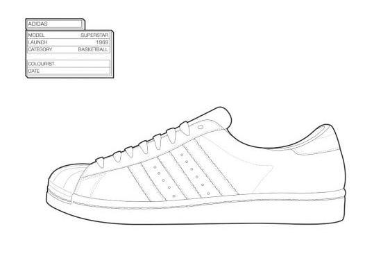 The Sneaker Coloring Book Zapatillas Retro Para Colorear Tus