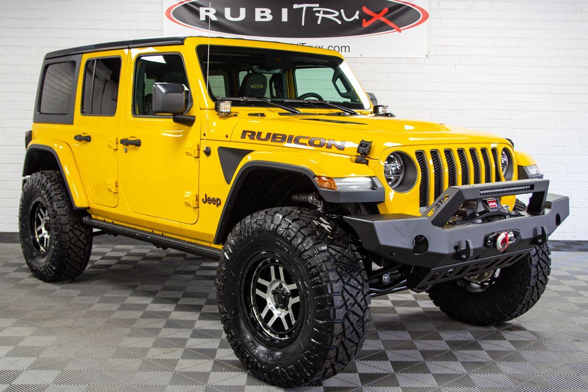 2019 Jeep Wrangler Rubicon Unlimited JL Bright White