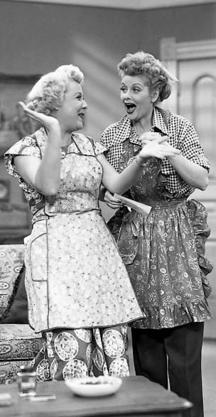 Lucy & Ethel...best of friends