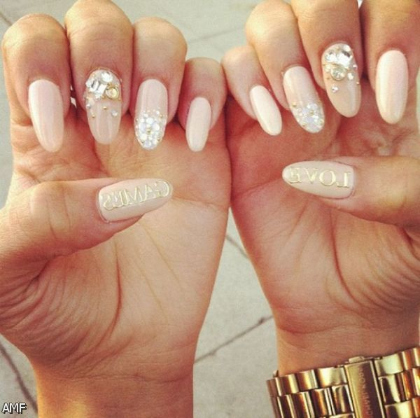 Nailart 2016 Trends: Acrylic Nails Tumblr Pointy 2015-2016