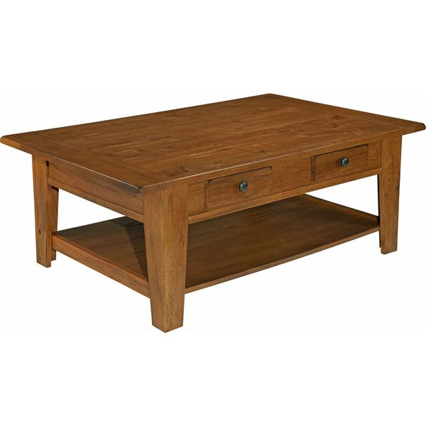 broyhill attic heirlooms brown wood rectangular cocktail table rh pinterest co uk