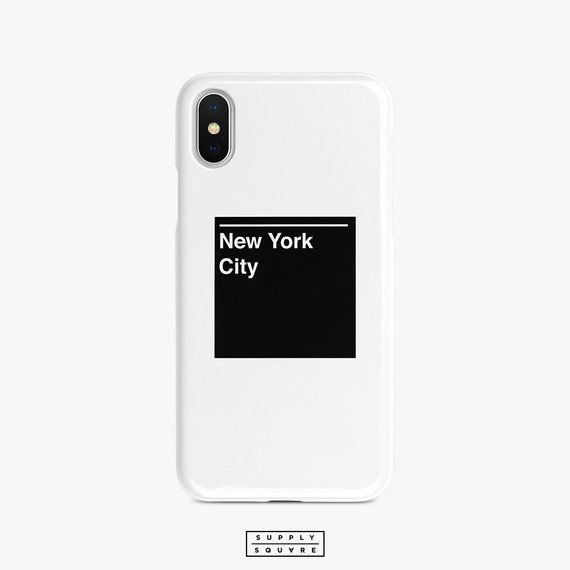 New York City Subway Sign iPhone X Case Samsung Galaxy